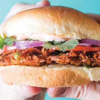 Lucky Peach's McAloo Tikki Sandwich.