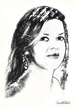 """Photo: Bruno Steinbach. """"Anne Caroline""""Infogravura (carvão), 42 x 29,7 cm, junho 2009, Paraíba, Brasil."""