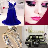 Beauty elegance decoration art