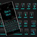 Black Blue Light Keyboard icon