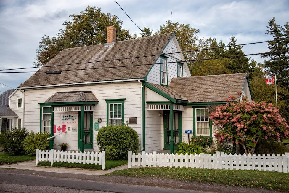 Wyspa Księcia Edwarda, dom rodzinny Lucy Maud Montgomery