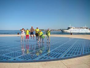 Photo: Zadar - Pochwała Słońca - Chorwacja