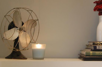 Photo: Here is the Air Wick Scented Candle in Fresh Water scent.
