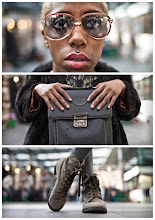 Photo: Triptychs of Strangers #23, The Kharise Francis herself > Full story: http://goo.gl/74rZO