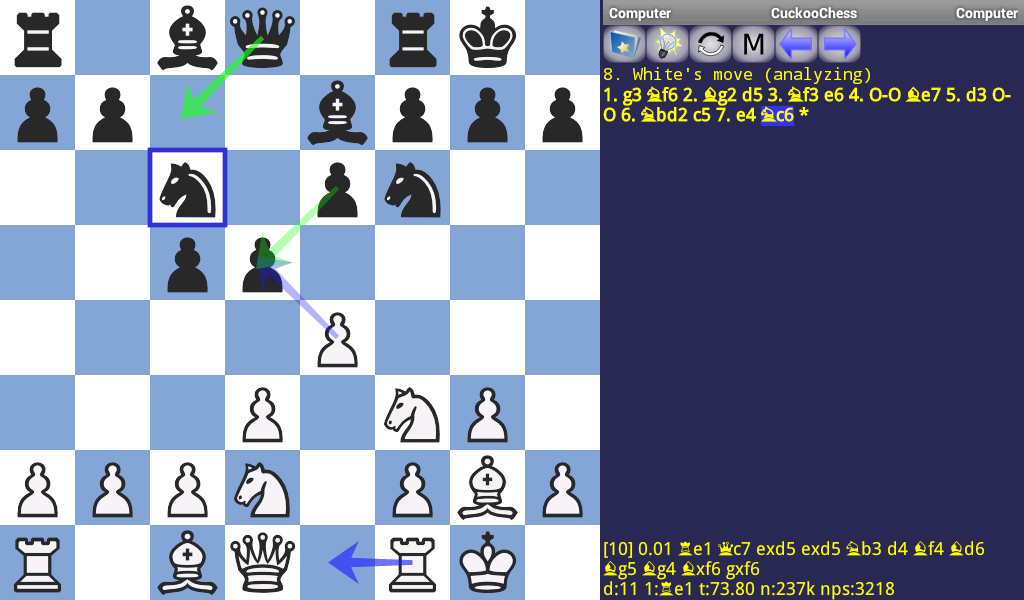 DroidFish Chess- screenshot