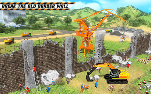 Wall Construction Simulator 2018: Grenzsicherheit – Apps bei Google Play