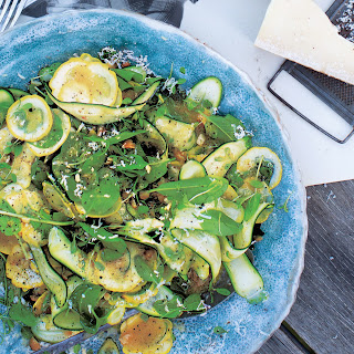 Shaved Zucchini Salad with Macadamia Nuts