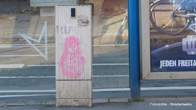 Photo: Kabelverteiler; Stencil; Unknown Artist; MATRYOSHKA