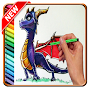How To Draw Spyro Dragon APK icon