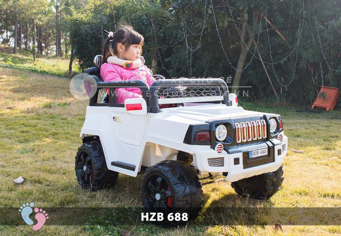Xe ô tô điện cho bé Jeep HZB-688 7