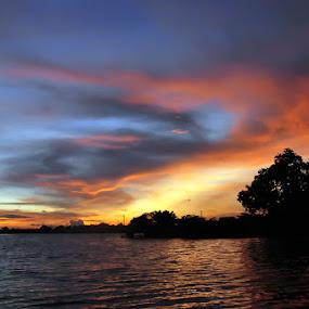 ~ Sunset ~ by Re Rahnavarda - Landscapes Sunsets & Sunrises