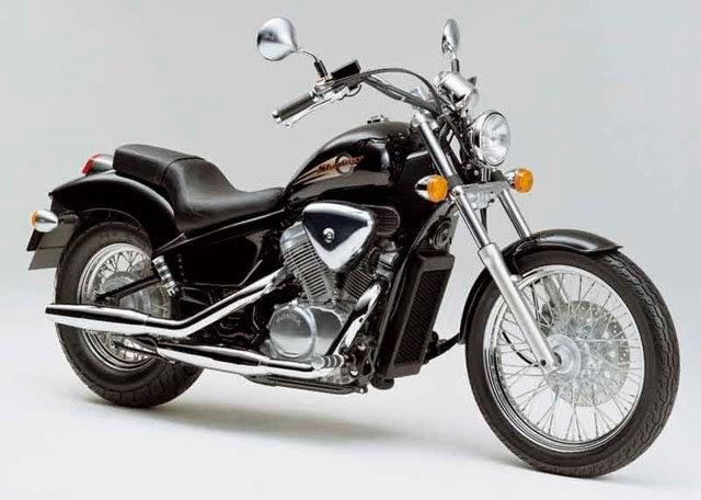 Honda VT 600 C - VLX Shadow-manual-taller-despiece-mecanica