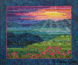 Photo: Blue Ridge Mountain Sunset