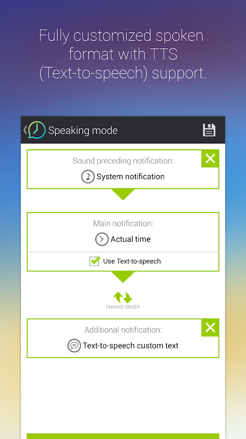 Talking Clock & Timer Pro- screenshot