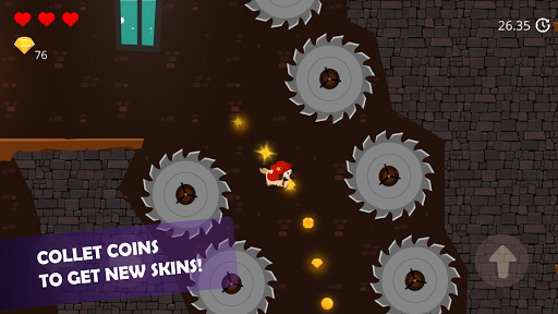 Doge and the Lost Kitten - 2D Platform Game apkmr screenshots 5