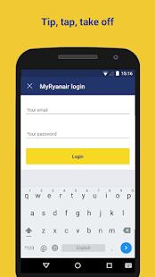 Ryanair - Cheapest Fares - screenshot thumbnail