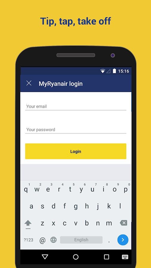 Ryanair - Cheapest Fares - screenshot
