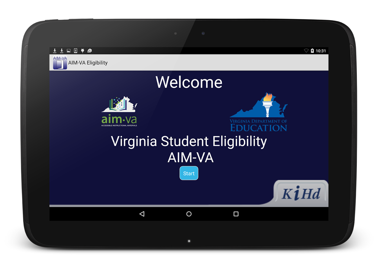 AIM-VA Eligibility- screenshot