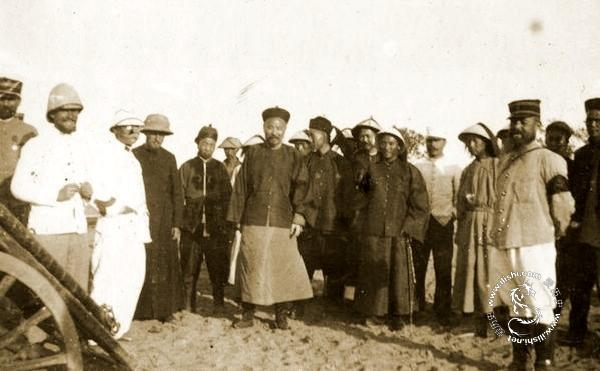 清廷官员慰问八国联军