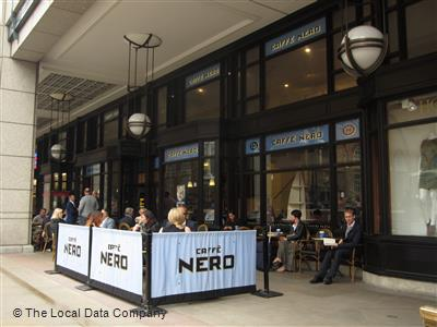 Caffe Nero On Bishopsgate Arcade Coffee Shops In The City