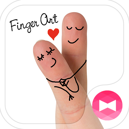 Love Wallpaper-Finger Art- Icon