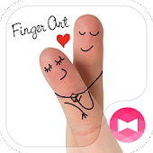 Love Wallpaper-Finger Art-