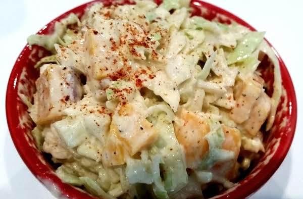 ~  Cheddar Cabbage Salad ~ Cassies