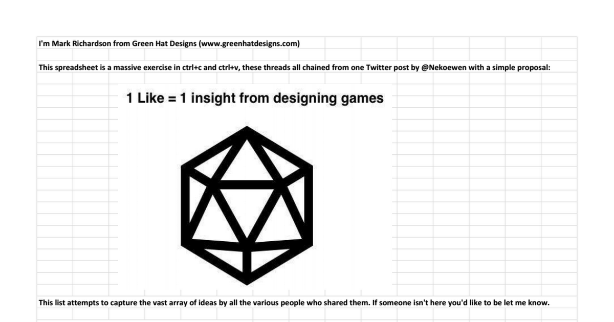 Thumbnail for 1 Like, 1 Game Design Insight Compilation