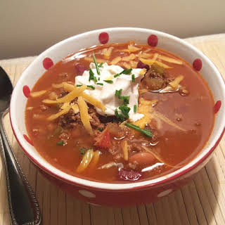 Pressure Cooker Copycat Wendy's Chili.