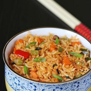 Schezwan Fried Rice Recipe, How to Make Schezwan Fried Rice Recipe