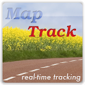 MapTrack  GPS real time track icon