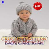 Crochet Pattern Baby Cardigan