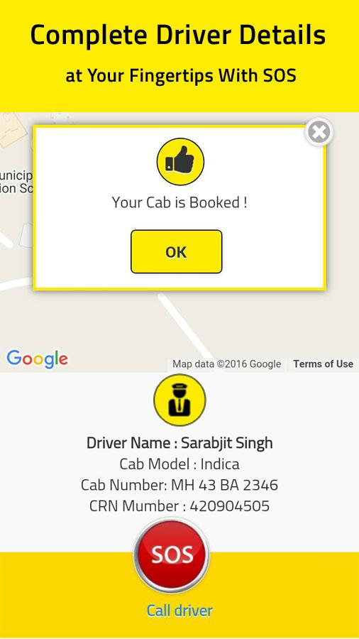 Screenshots of Book Ola Uber or Easy Cabs for iPhone