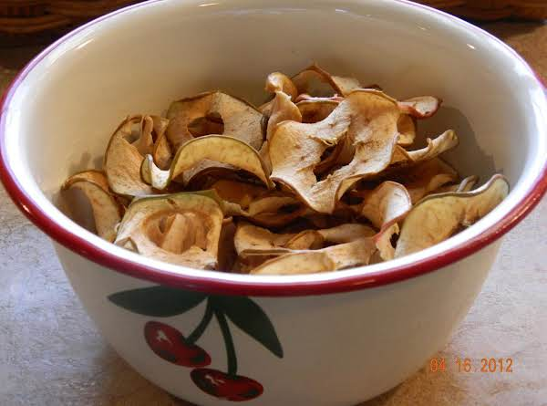 Easy As (apple) Pie Dried Apples(from Your Oven!) Recipe