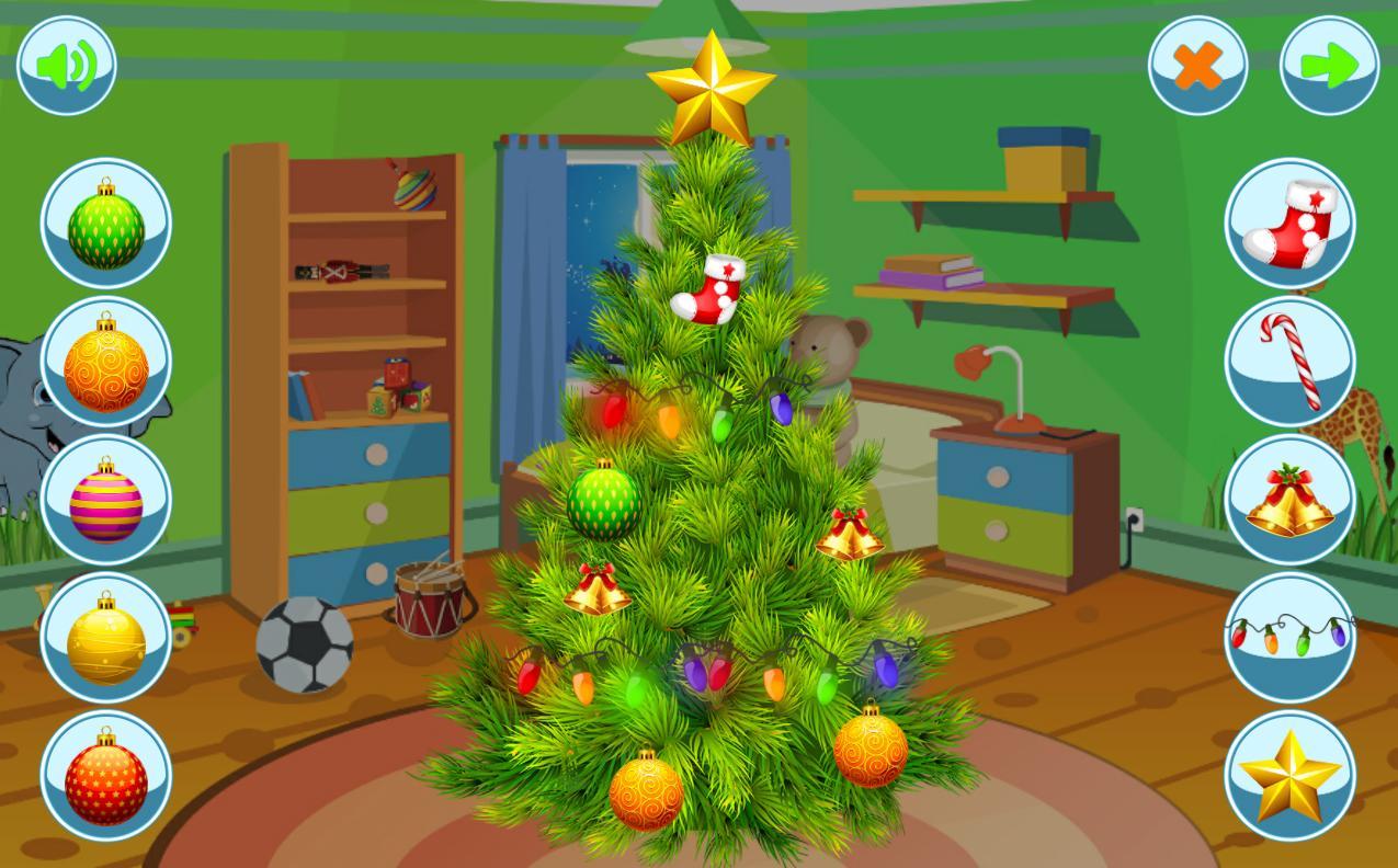christmas tree decoration screenshot - Christmas Tree Games