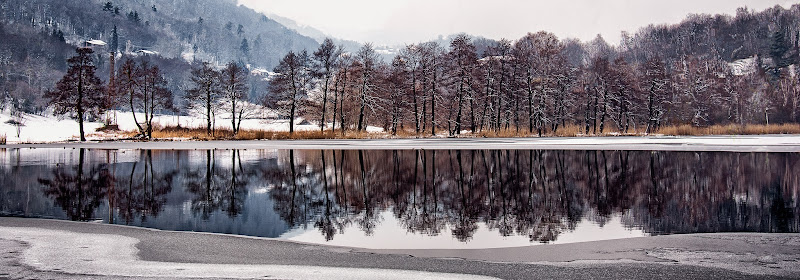 Panoramica d'inverno di Barbara Surimi