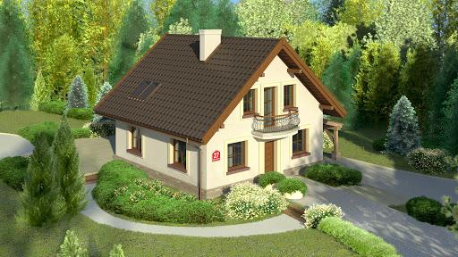 projekt Dom przy Cyprysowej 27