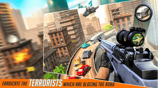 Télécharger Gratuit City Sniper Gun Shooter : Elite 3D Shooting Games APK MOD (Astuce) screenshots 4