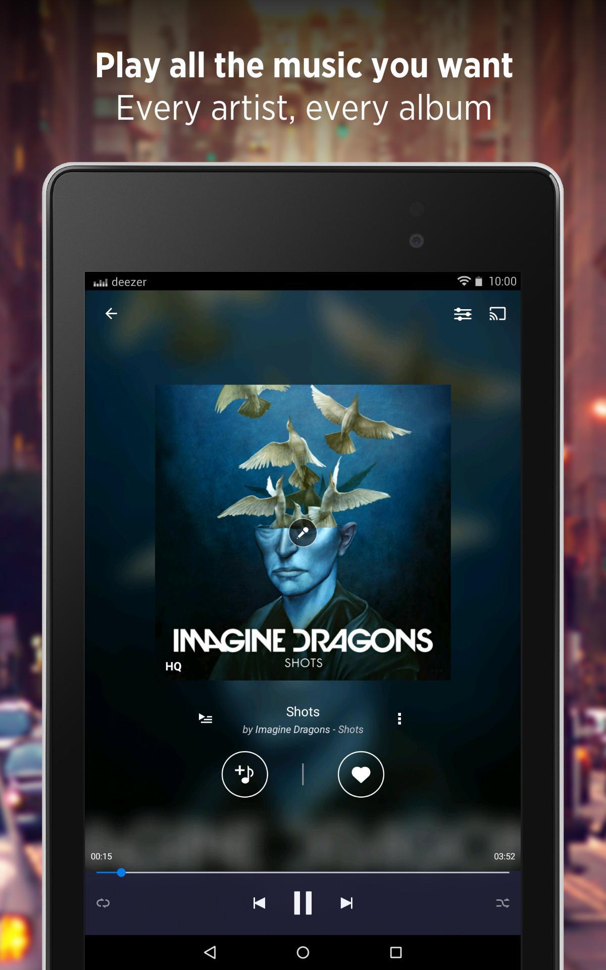 Deezer - Songs & Music Player screenshot #11