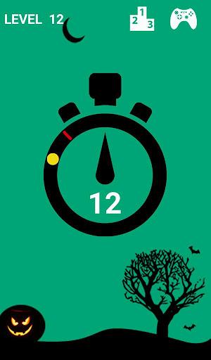 Pop the clock Halloween