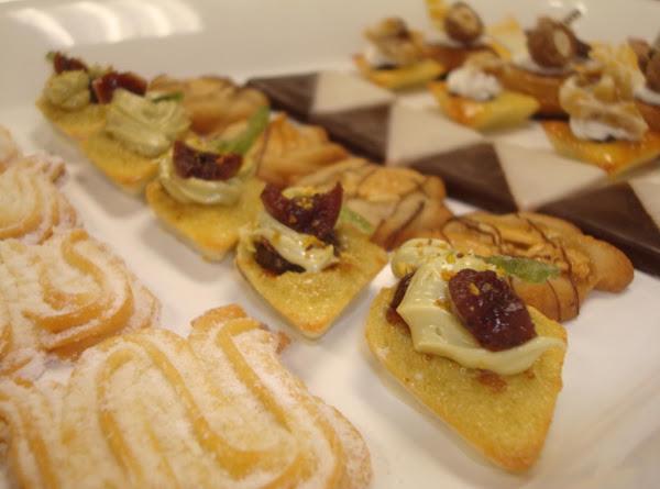 Soft Pistachio Cakes With Morello Cherries Recipe