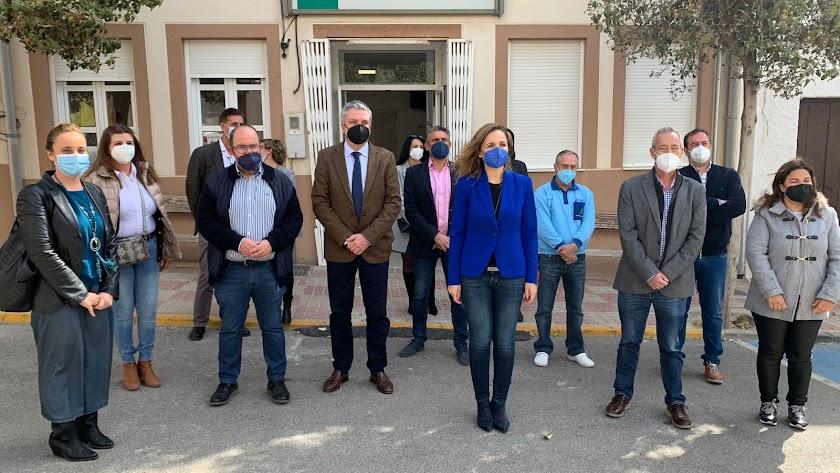 Maribel Sánchez Torregrosa ha visitado el fin de los trabajos.