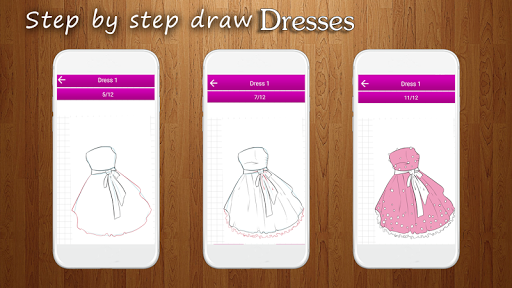 How to Draw Dresses 1.1 screenshots 1
