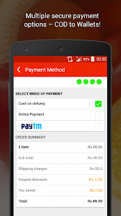 GrocerMax - Online Grocery- screenshot thumbnail