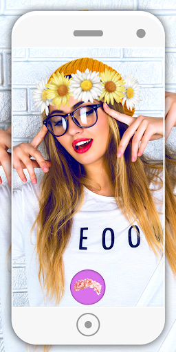 Flower Crown Photo Editor 5.1 screenshots 1