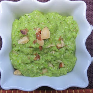 Fava Bean, Almond, and Mint Pesto