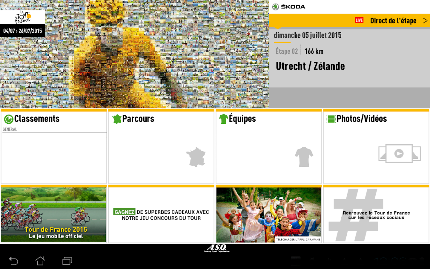 TOUR DE FRANCE 2015 by ŠKODA - screenshot