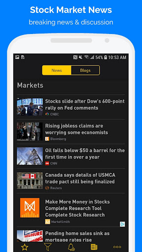 NASDAQ Live Stock Market by LineCentury, Inc  (Google Play, United