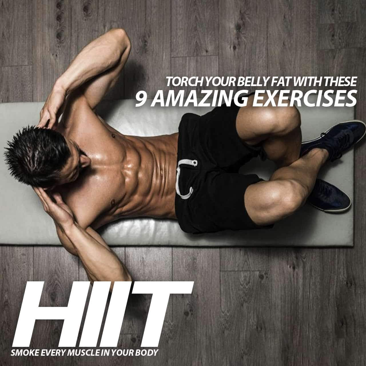 9 Amazing HIIT Exercises To Get Rid of Belly Fat | Beginner to Advanced
