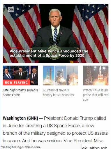 News CNN Politics 1.0 screenshots 5
